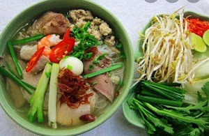Special Food Hủ Tiếu Mì - Egg and Clear Noodle