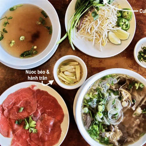 Special Food Phở - Rice Noodle Beef Soup
